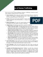 In Do Trafficking Factsheet Causes