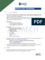 JIM UV 2011. Información general