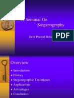 Seminar on Steganography