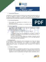 JIM UV 2011. Bases Miss y Mister - Rey Guachaca