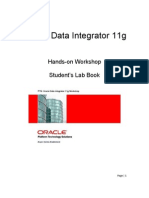 PTS ODI11g Workshop LabBook