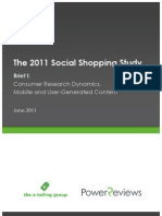 The 2011 Social Shopping Study (The E-tail group & Powers Reviews) - SEP11