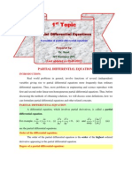 1.Formulation of PDE
