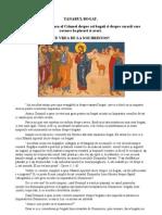 Predica Sfantului Luca Al Crimeei Despre Cei Bogati Si Despre Saracii Care Ravnesc La Placeri Si Averi.