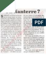 Le Canard enchainé - 2007.03.14 - Comment on enterre les affaires de Chirac et Sarkozy en nommant le juge Courroye