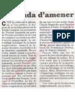 Le Canard enchainé - 2007.04.04 - Verrouillage politique de la haute magistrature par la droite