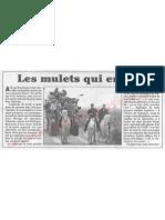Le Canard enchainé - 2007.04.25 - Les dessous du photo ops de Sarkozy faisant du cheval