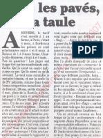 Le Canard enchainé - 2007.05.16 - Sous les pavés, la taule (dureté des condamnations des manifestants anti-Sarkozy)