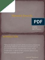 Network Security Presentation