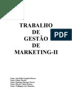 Trabalho de Gestão De Marketing-II