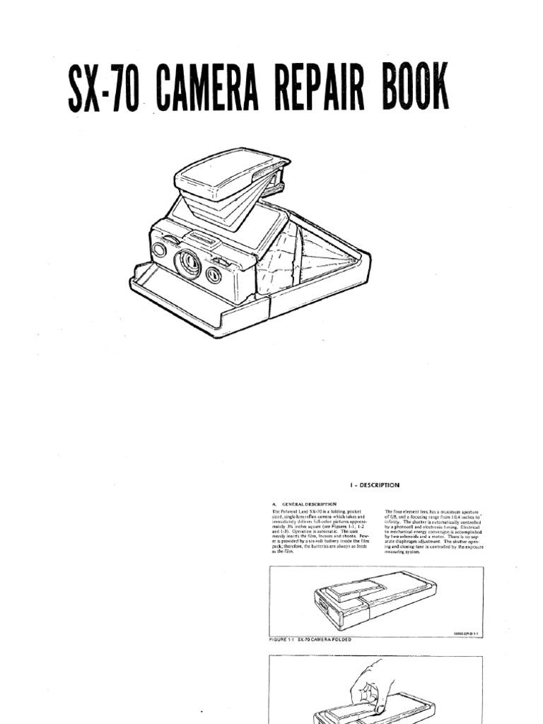 d85ac3aea97 Polaroid SX-70 Repair Manual