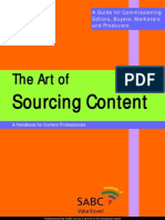 Art of Sourcing Content