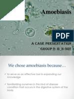 Amoebiasis Presntation