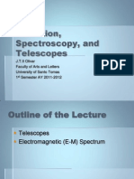 7. Radiation, Spectroscopy, And Telescopes