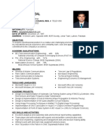 Fresh Telecom Engineer CV