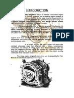 Seminar Report on Rotary Engine