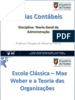 Aula 5 (TGA)_Escola Clássica - Max Weber