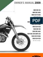 KTM 450XC-W Users Manual