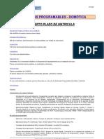 Automatas Programables y Domotica