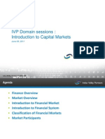 1-5 PM - Intro to Capital Markets
