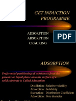 Adsoption Absorption Cracking