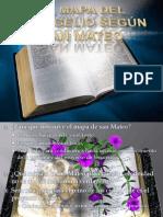 EL MAPA DEL EVANGELIO SEGÚN SAN MATEO