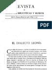 Dialecto Leonés MP