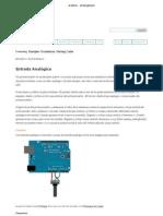 Arduino - AnalogInput
