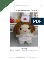 Little Nurse Amigurumi Pattern