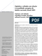 Opiniao Atitudes Sexualidade BR 2005 Www Scielo Br PDF v42s1 08