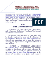 2002 Nlrc Rules of Procedure