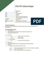 Contoh Lesson Plan PSV