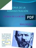 TEORIA DE LA ADMINISTRACIÓN - BUROCRACIA diap