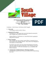 Oct '08 SVMC Minutes