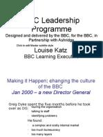 BBC Leadership Programmw