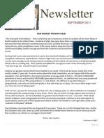 Newsletter PDF Sept. 2011