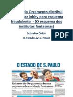 Fraude en el presupuesto del gobierno federal por Leandro Colón