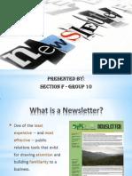 Newsletter G10