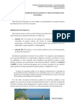 DIFERENCIAS ENTRE BIENES DE USO PÚBLICO Y ESPACIO PÚBLICO EN COLOMBIA - Carlos Cuéllar Mendoza