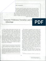 Carpenter and Nakamoto - Consumer Preference