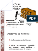 Licitações e Contratos na Administração Pública