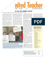 UTLA's United Teacher Newspaper - August 12, 2011