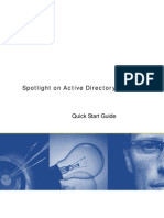 Spotlight on Active Directory 681 Quick Start Guide