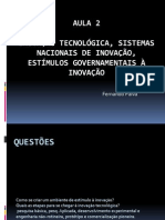 aula2InovaoTecnolgicaSistemasNacionaisdeInovacao16082011