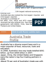 Austalia Trade