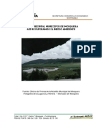 Plan Ambiental Municipio de Mosquera
