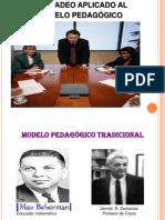 CHARLA MODELO PEDAGOGICO