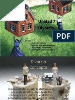Exposición Unidad 7 Divorcio