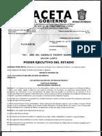 Ley de Educacion Del Estado de Mexico