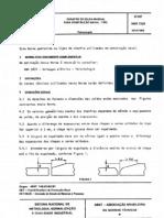NBR 7239 PB 928 - Chanfro de Solda Manual Para Construcao Naval - Tipo
